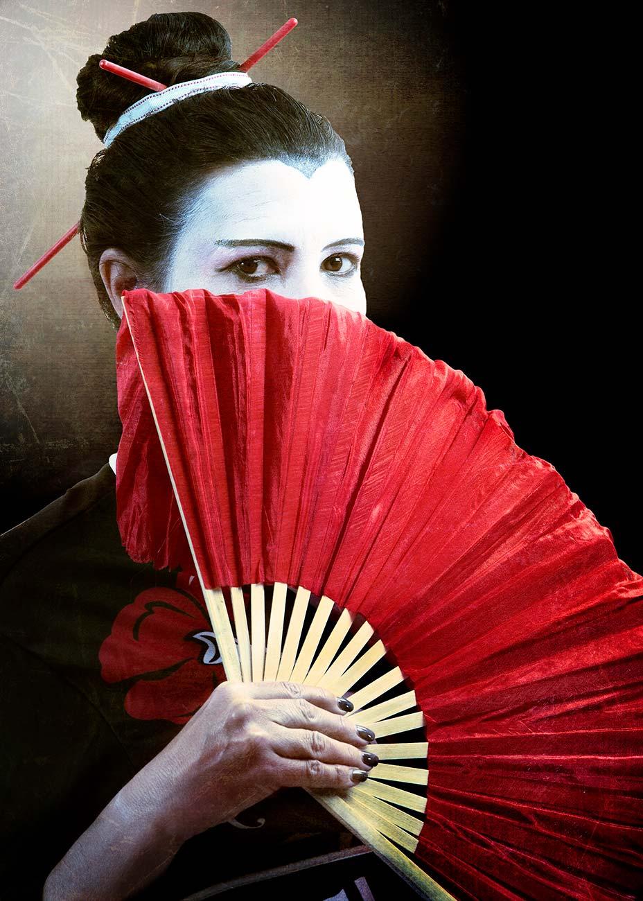 Geisha on Halloween