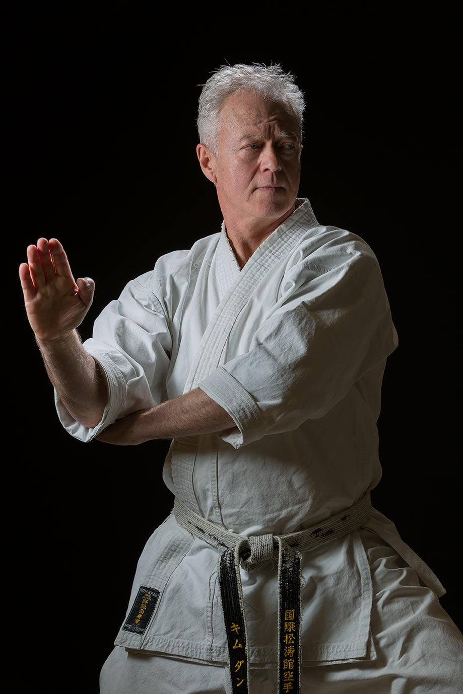 Kim Dunn, Hanshi, Karate