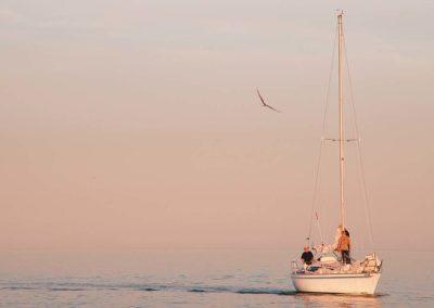 Pastel Boat